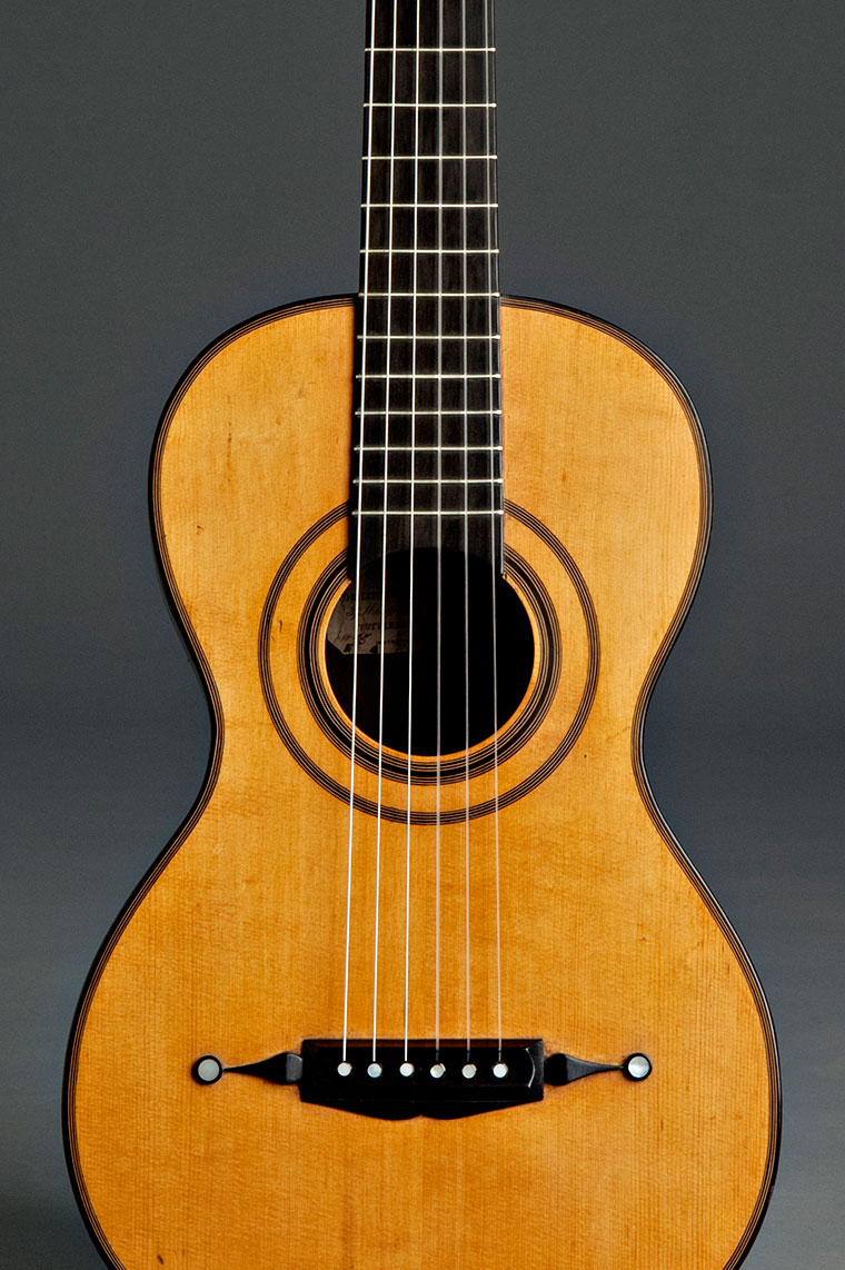 Historical copy of Panormo guitar (1835)