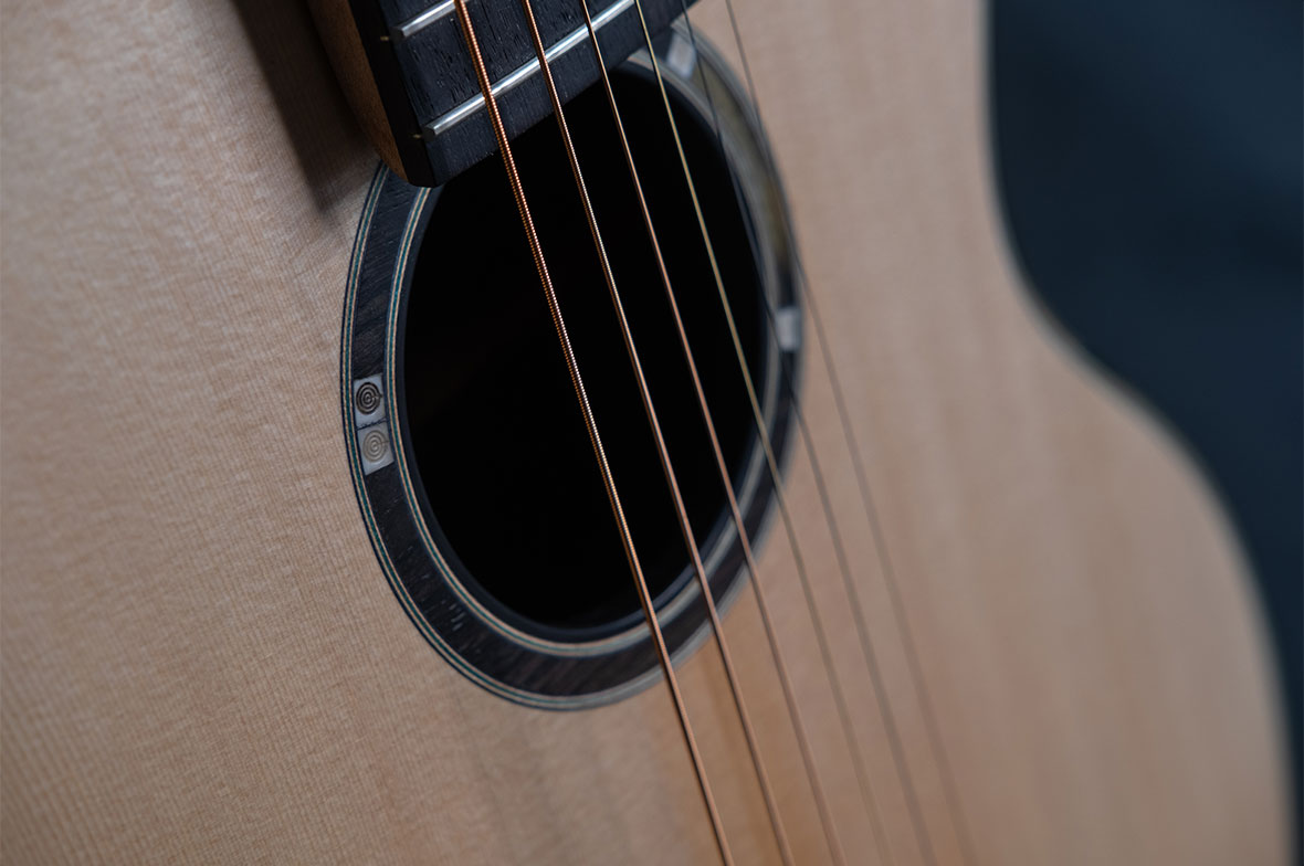 A Series Black Oak Jazz Guitar