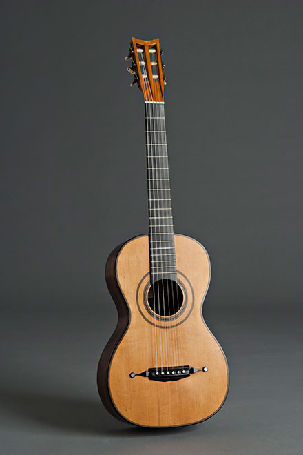 Panormo guitar historical copy (1835)