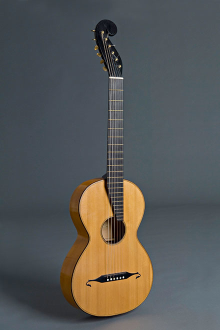Stauffer guitar historical copy (1822)